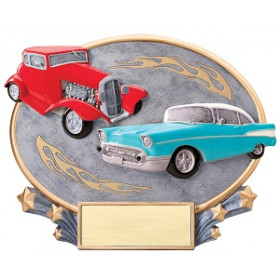 Car Cruise Resin Plate
