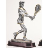 Female Tennis Resin