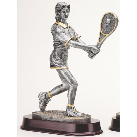 Female Tennis Resin