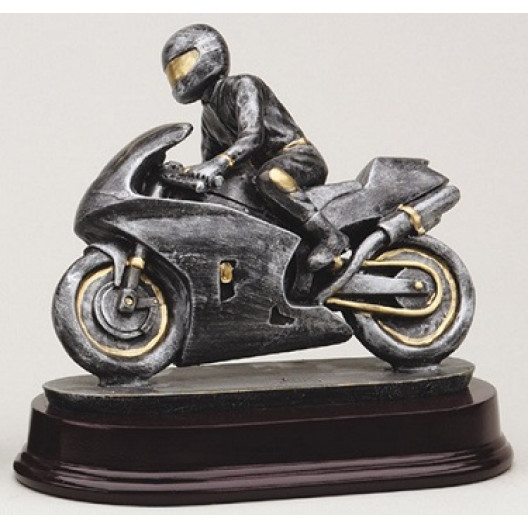 Racing Motorcycle, Silver
