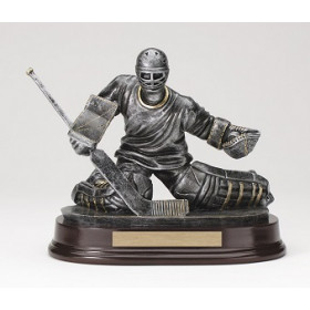 Hockey Goalie Resin