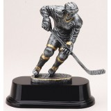 Female Hockey Player Resin