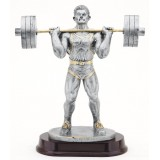 Male Weightlifter - 12.5""