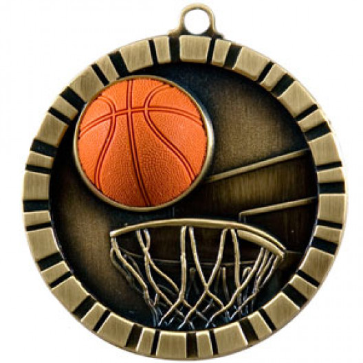 3D Medal - BASKETBALL