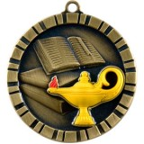 3D Medal - LAMP OF KNOWLEDGE