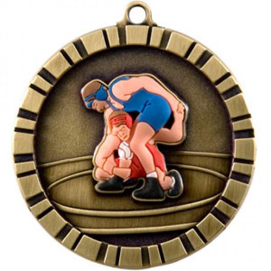 3D Medal -  WRESTLE