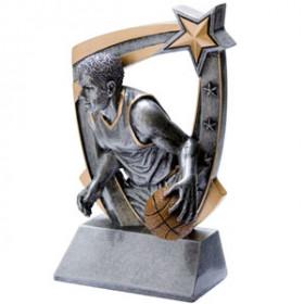 3-D Star Resin - Basketball, Male