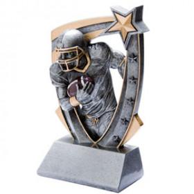 3-D Star Resin - Football, Male