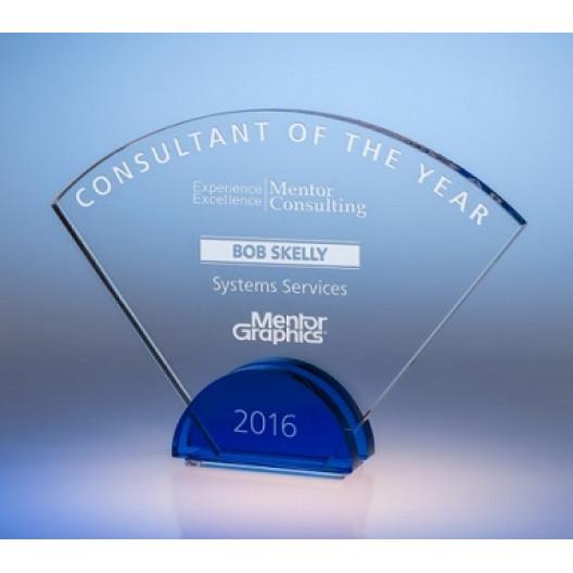Radiant Crystal Award - Small