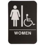ADA Female Restroom Sign