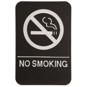 ADA No Smoking Sign