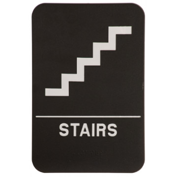 ADA Stairs Sign