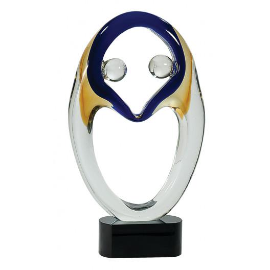 """Premier Art Glass Award - 13.75"""""""
