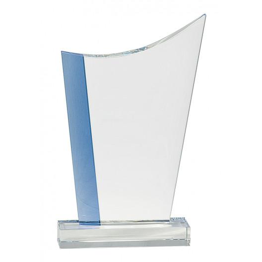 Blue Edge Crystal Crest
