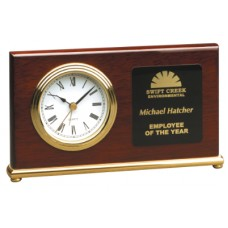 Horizontal Desk Clock