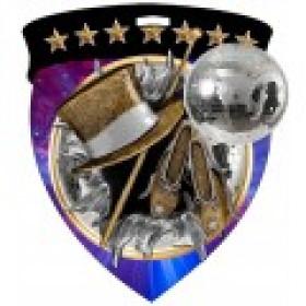 Color Shield Medal - Dance