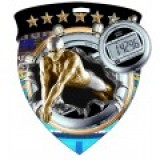 Color Shield Medal - Male Swimming