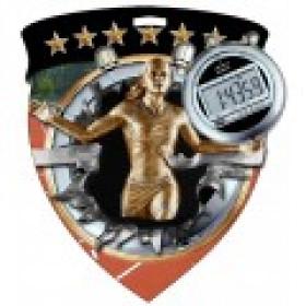 Color Shield Medal - Female Track
