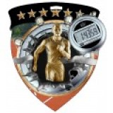 Color Shield Medal - Male Track