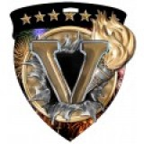 Color Shield Medal - Victory