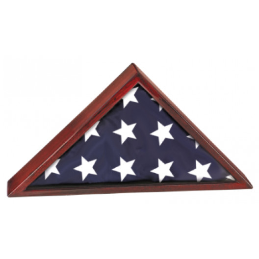 Rosewood Piano Finish Flag Case - Medium