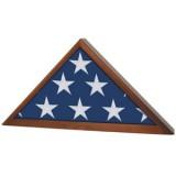 Walnut Memorial Flag Case