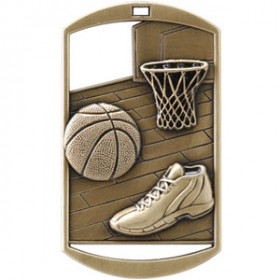 Dog Tag - Basketball