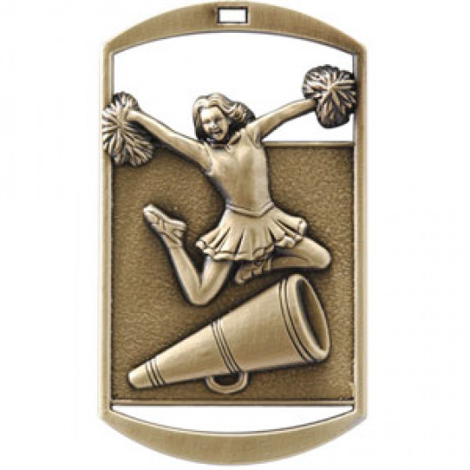 Dog Tag - Cheerleading
