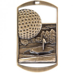 Dog Tag - Golf