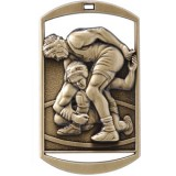 Dog Tag - Wrestling