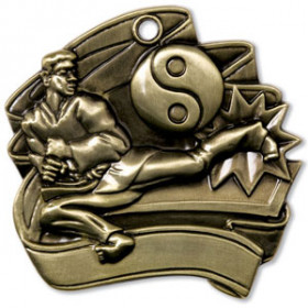 "Martial Arts 2.5"" Medal"