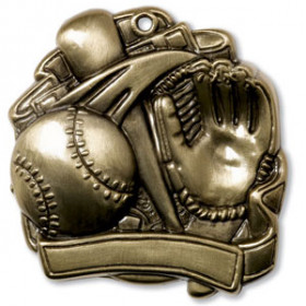 "Softball 2.5"" Medal"