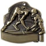"Wrestling 2.5"" Medal"