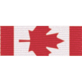 Neck Ribbon - Maple Leaf