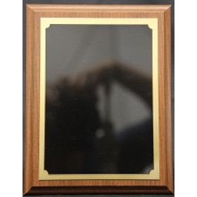 Royal Wood Plaque