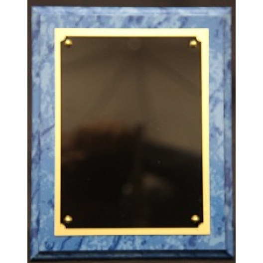 Blue Marbled Plaque