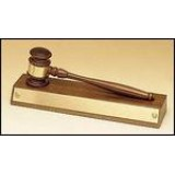Walnut Gavel on Walnut Base