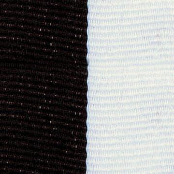 Neck Ribbon - Black & White