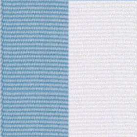 Neck Ribbon - Light Blue & White