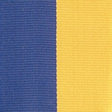 Neck Ribbon - Blue & Gold
