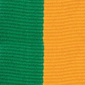 Neck Ribbon - Green & Gold