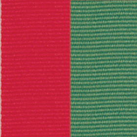 Neck Ribbon - Red & Green