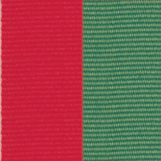 Neck Ribbon - Red & Green