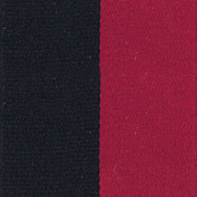 Neck Ribbon - Black & Red