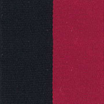 Neck Ribbon - Black & Red