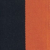 Neck Ribbon - Black & Orange