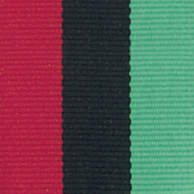 Neck Ribbon - Red, Black, & Green