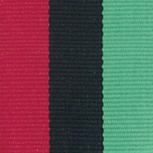 Neck Ribbon - Red, Black, & Green