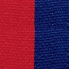 Neck Ribbon - Red & Blue