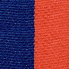 Neck Ribbon - Blue & Orange